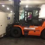 Flytting av generator fra Tromsø til Trondheim